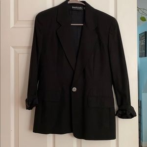 Anne Klein black dress blazer US 4